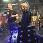 Mike details his work at The Doctor Who Experience. Picture - Jon Green