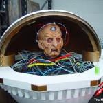 A new Davros head from the original mould. Picture - Mike Tucker