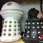 The Emperor and Davros arrive at The Model Unit. Picture - Mike Tucker.