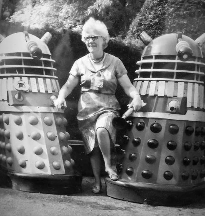 Two of Nation's Daleks. Picture - Ian Barber.