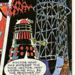 Gerry Haylocks black and red Dalek for TV Action.