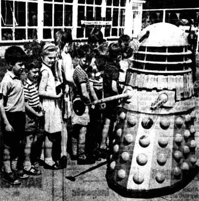 Dalek Five in Hammersmith.
