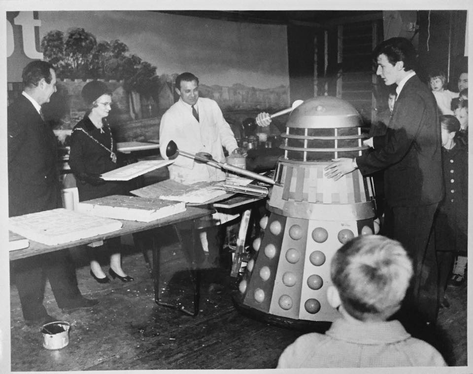 Dalek One in Leicester. Picture - George Saville.