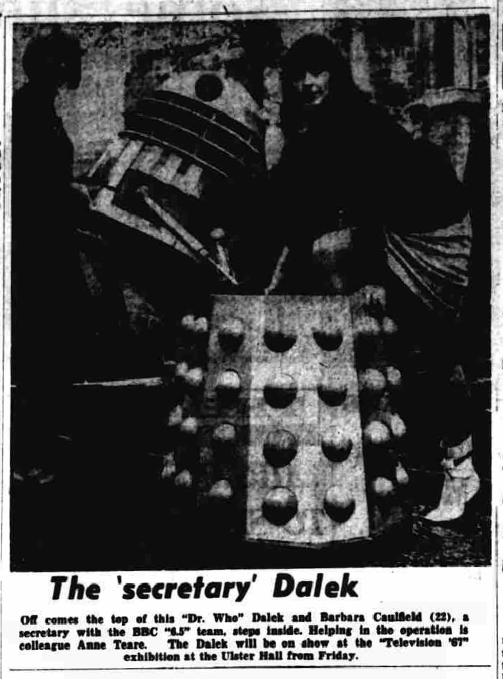 Dalek One in Belfast.
