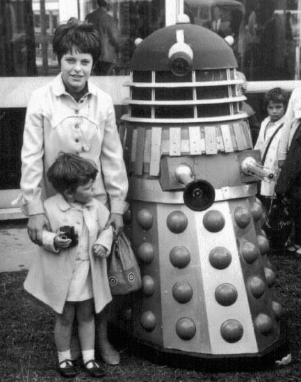 Dalek Six-5 at Dudley Zoo in 1967. Picture - Amanda Skipp.