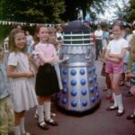 Dalek Two-1 at Crawley Down School Fete, Summer 67. Picture - Val Ryder.