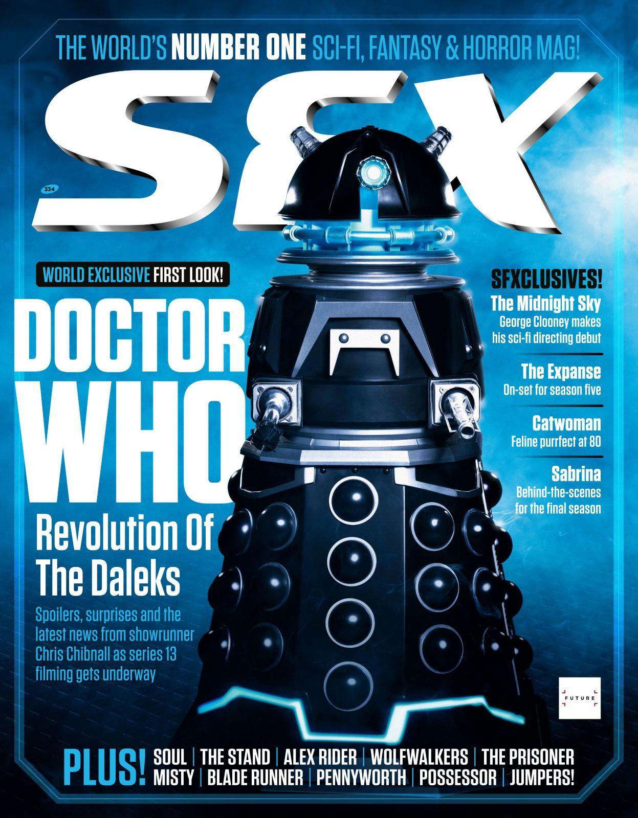 The Security Drone Dalek revealed by SFX magazine.