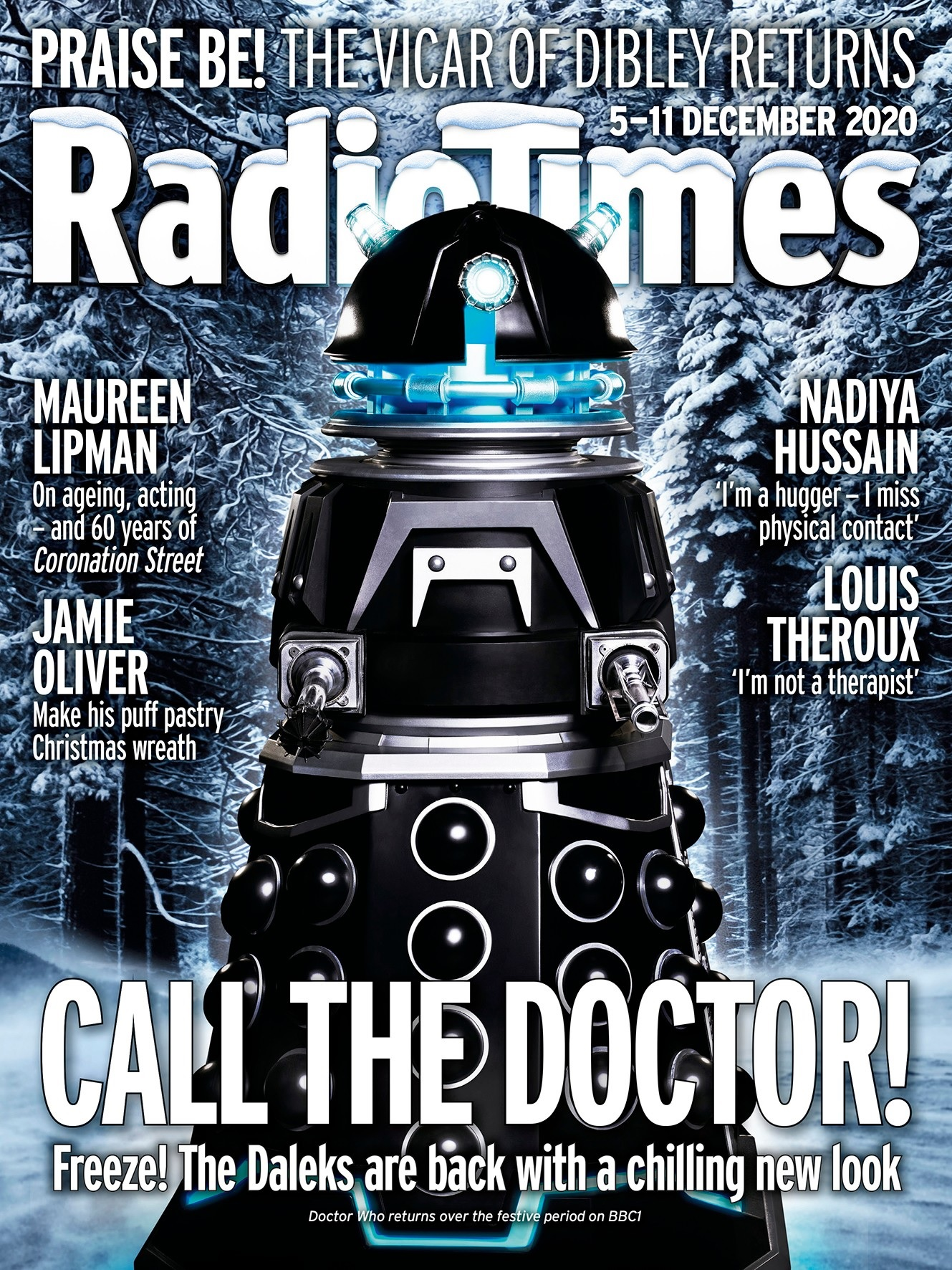SD1 on the cover of the Radio Times.
